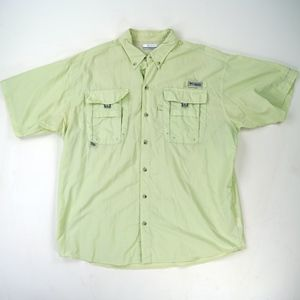 Columbia PFG Shirt Vented Fishing Omni-Shade Shirt